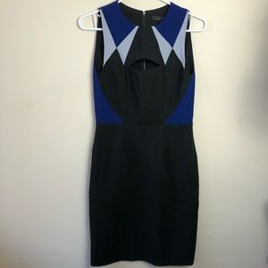 BCBGMaxAzria Size 4 Cut Out Pencil Dress